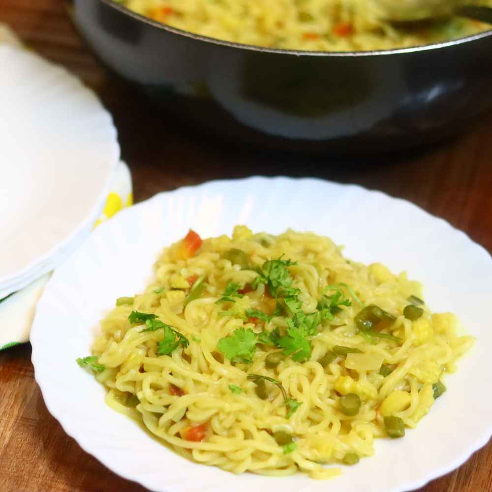 Photo of Masala maggi noodles by Anjali Valecha at BetterButter