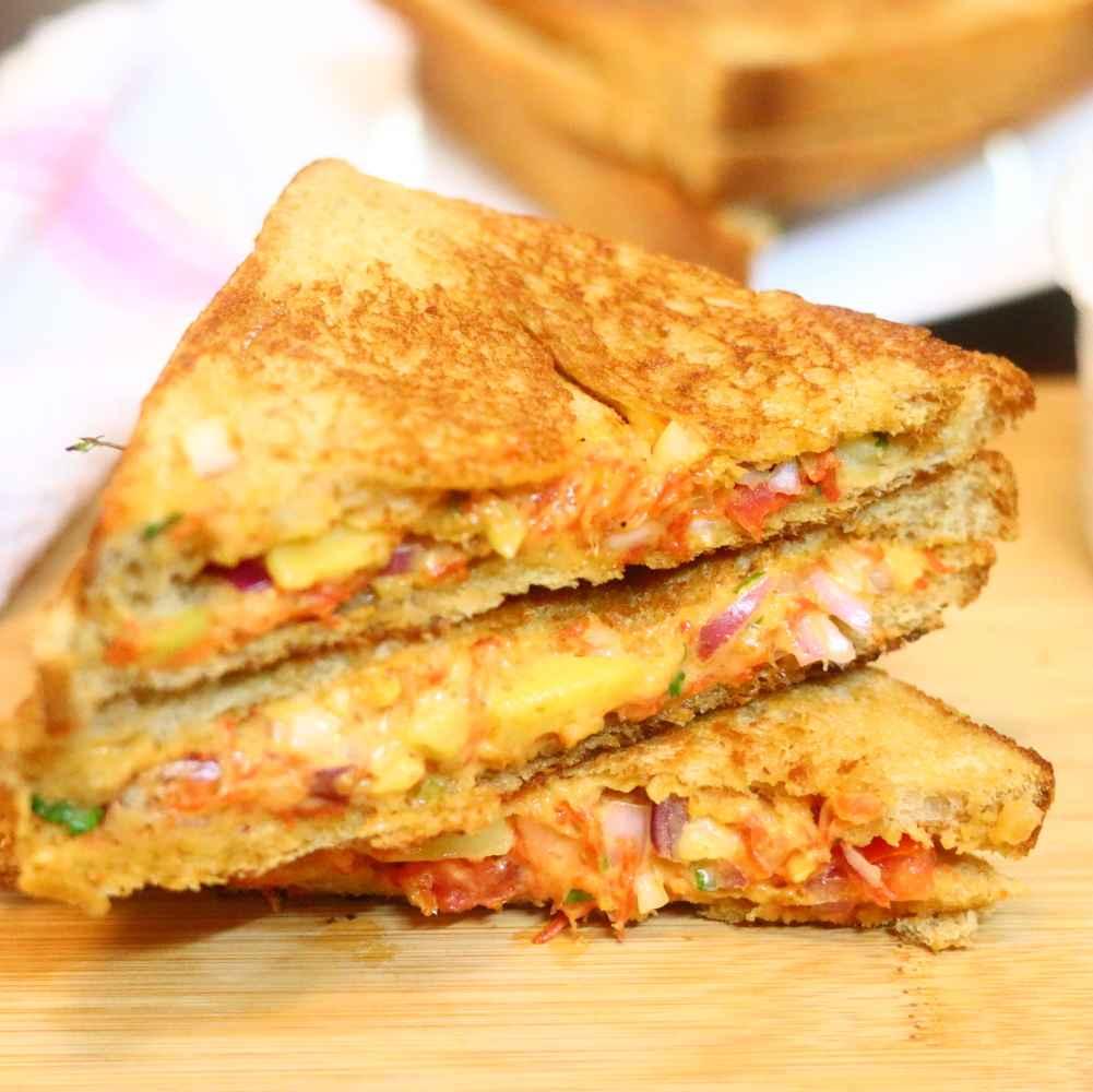 Photo of Veg mayonnaise sandwich by Anjali Valecha at BetterButter