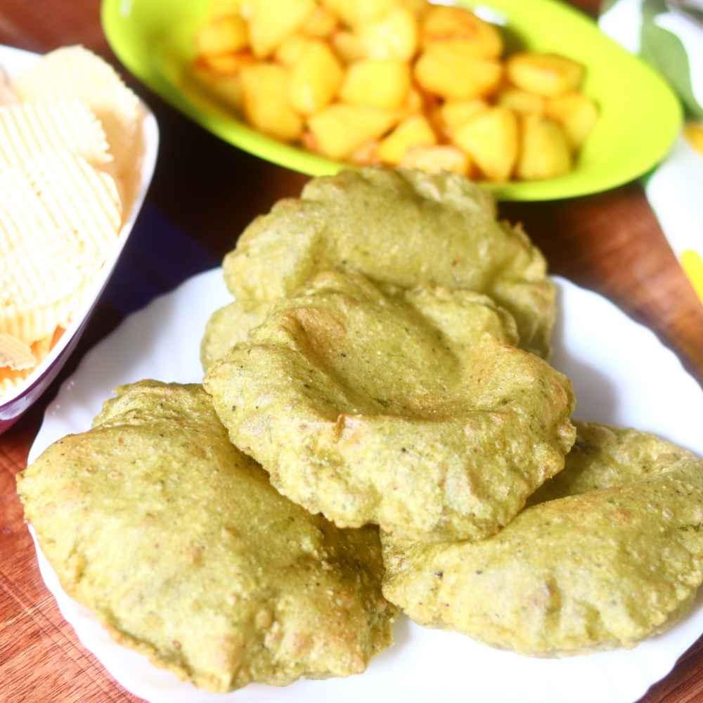 Photo of Palak poori by Anjali Valecha at BetterButter
