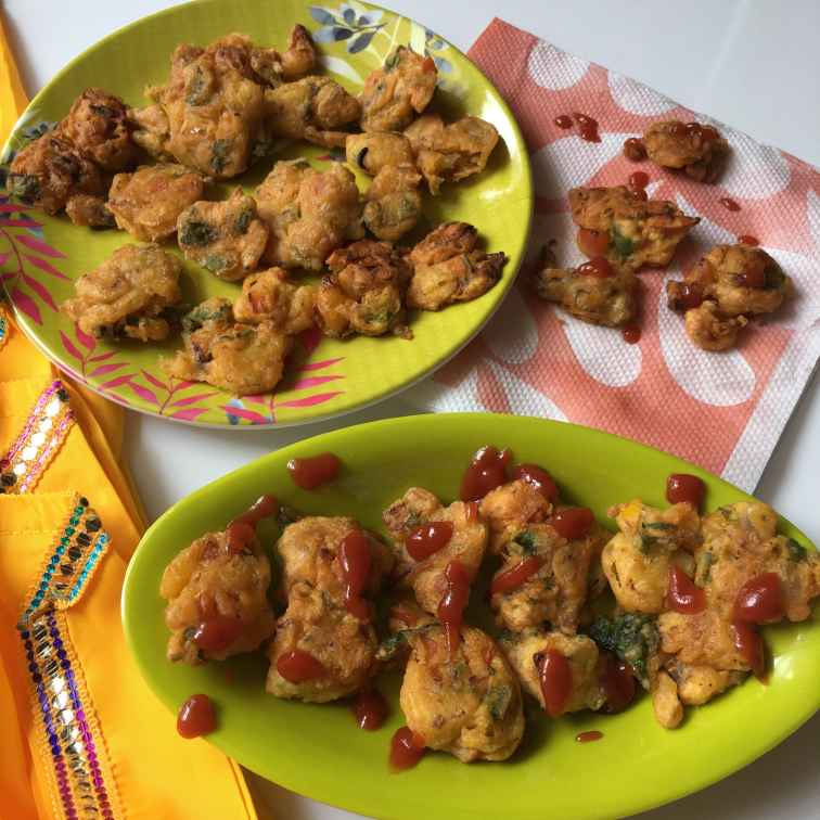 Photo of Veggie pakoras by Anjali Valecha at BetterButter