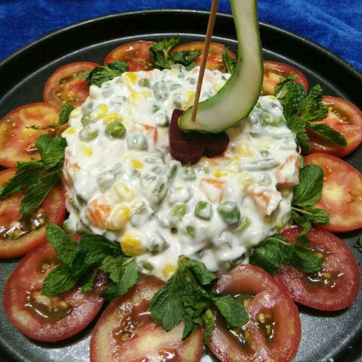 How to make Russian salad