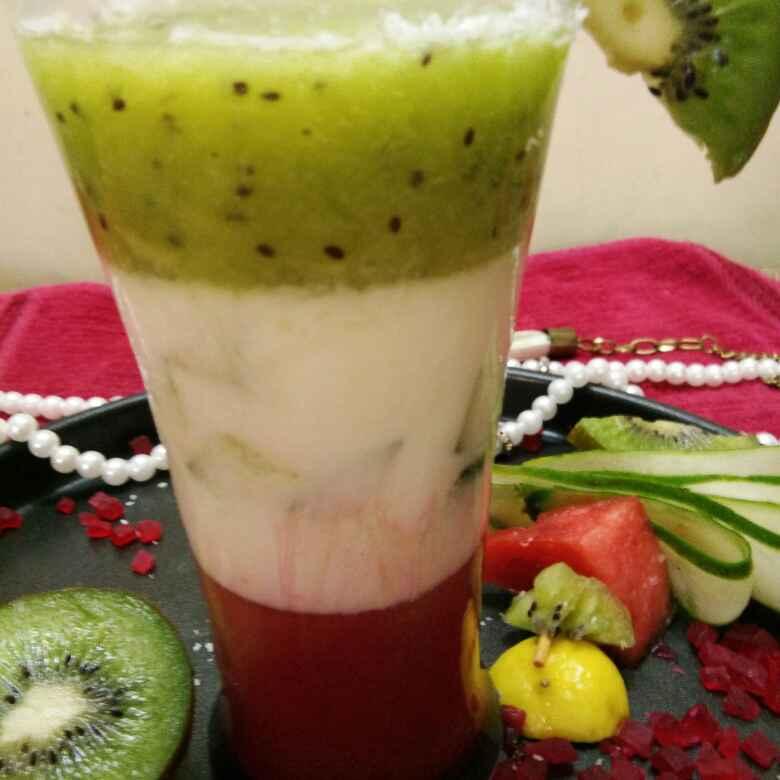 Photo of Kiwi  Yogurt  Dessert by Anjali sunayna Verma at BetterButter