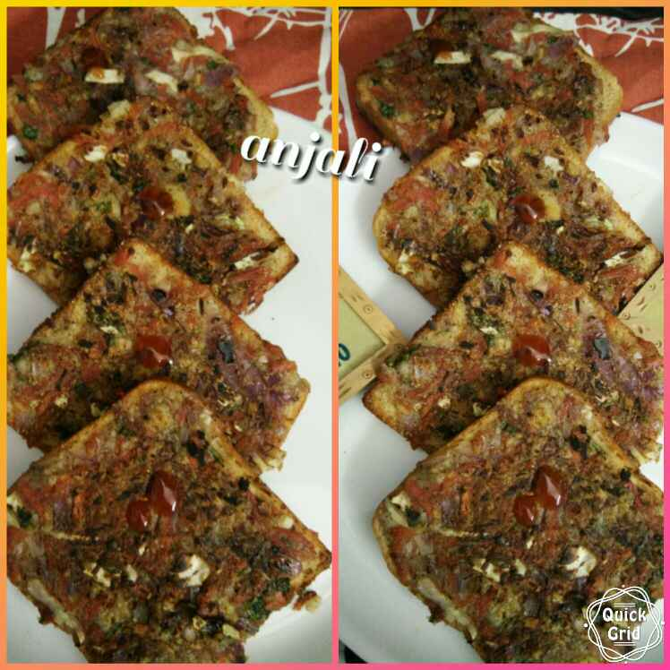 Photo of Healthy Open Sandwich by Anjali sunayna Verma at BetterButter