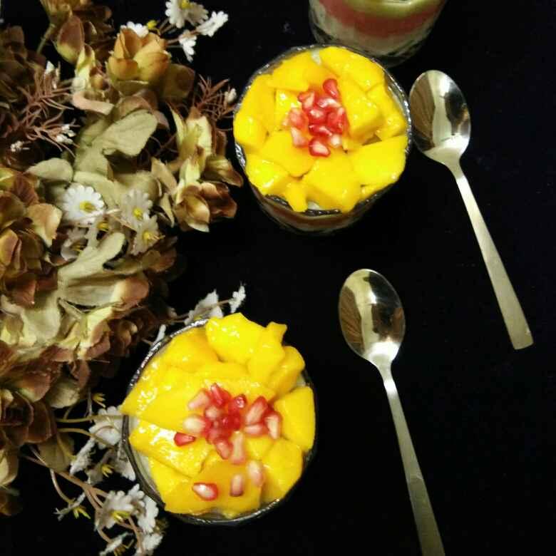 Photo of Mango daliya layered payasam by Anjali sunayna Verma at BetterButter