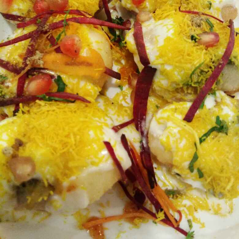 Photo of Dahi batata poori by Anjali sunayna Verma at BetterButter