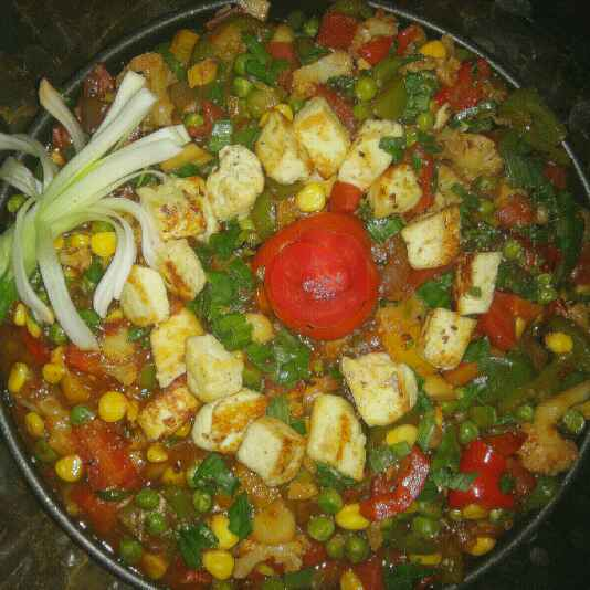 Photo of Stir Fry Vegetables Sizzler by Anjali sunayna Verma at BetterButter