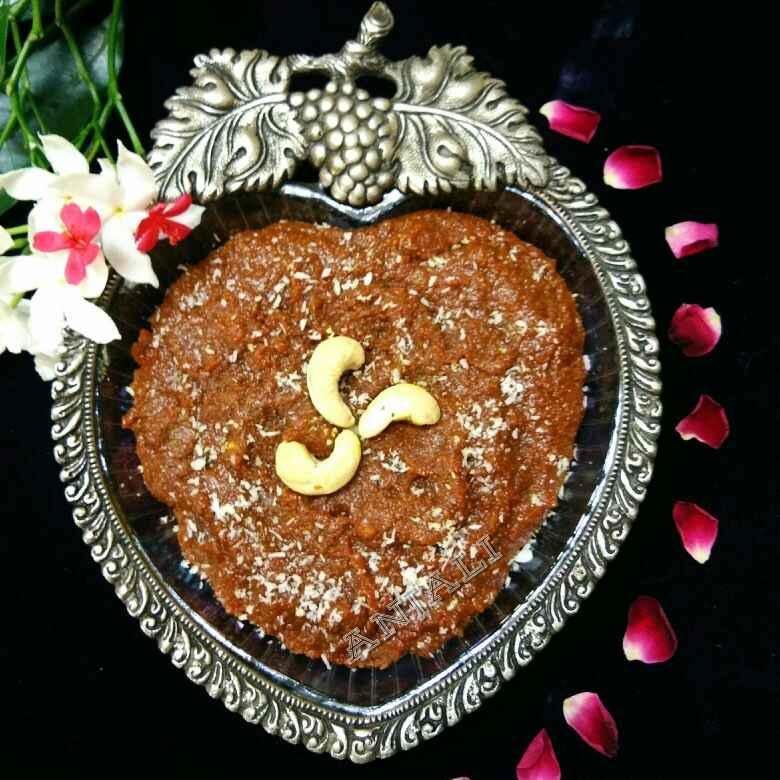How to make Fresh Turmeric Halwa