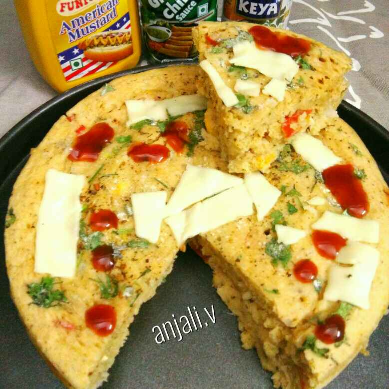 How to make Cheese pizza cake