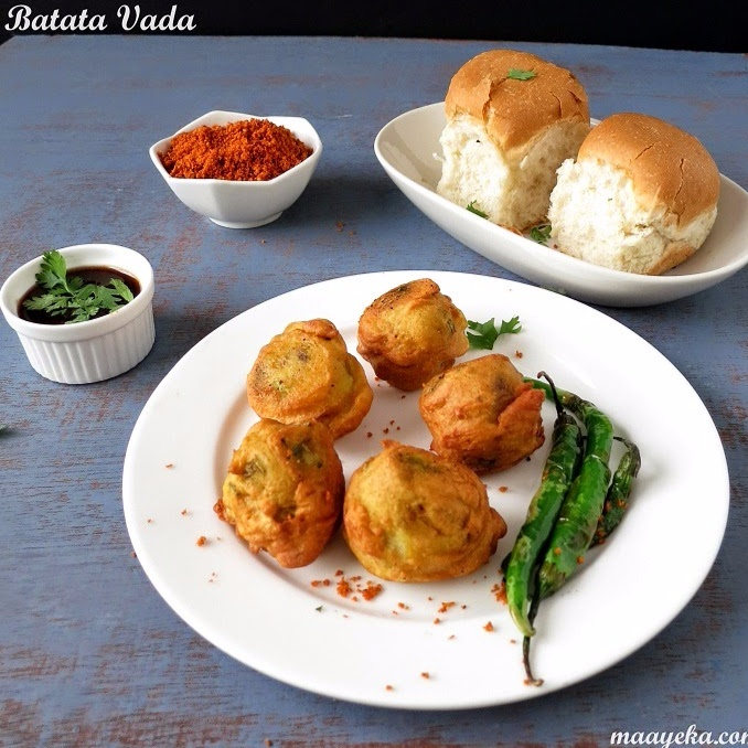 Photo of Batata vada/ Fried potato dumpling by Anjana Chaturvedi at BetterButter