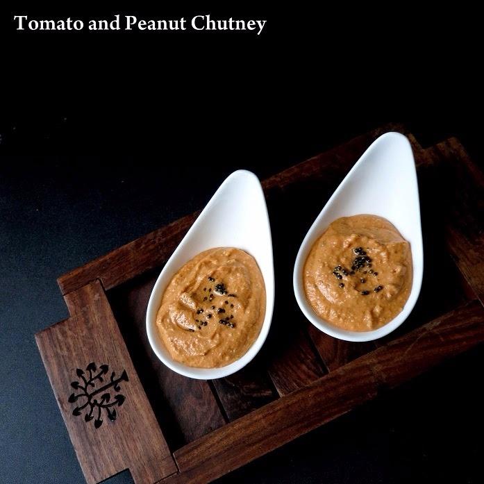 How to make Peanut and Tomato chutney