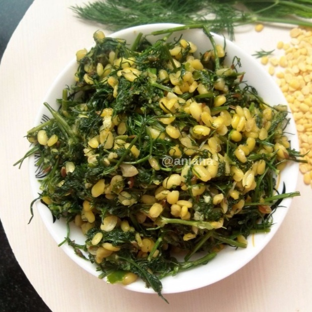 Photo of Shepu Chi Bhaji/Dill leaves Sabzi by Anjana Rao at BetterButter