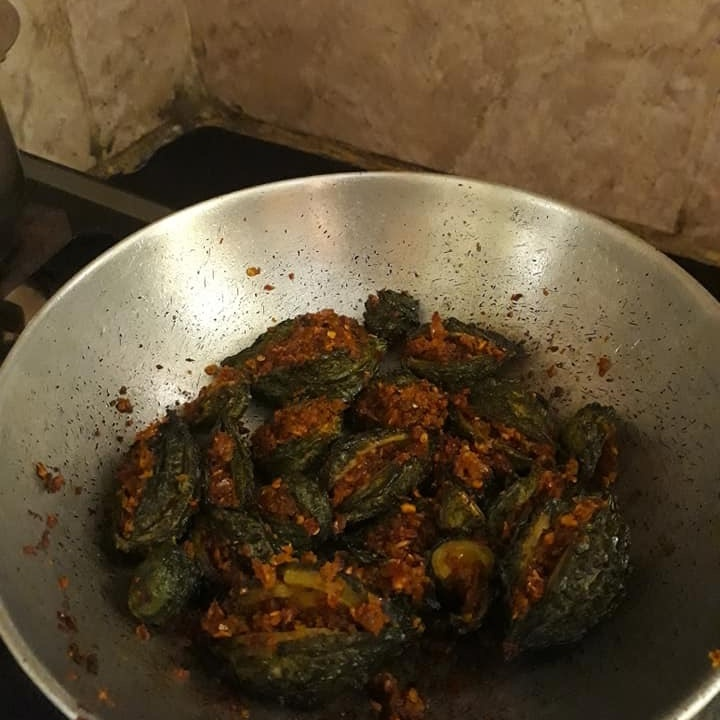 Photo of Bittergourd with Cumin spice  by Anjani Devi at BetterButter