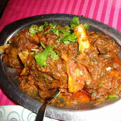 How to make Dry Mutton In Pressure Cooker