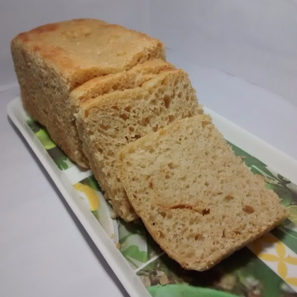 Photo of Whole Wheat Bread Loaf with hand held beater using dough hooks by Anju Bhagnari at BetterButter