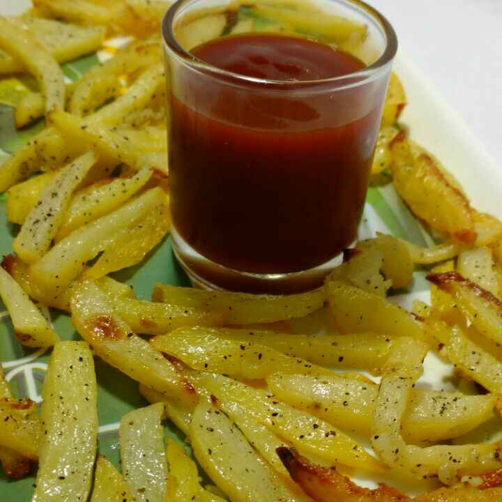 Photo of Baked French Fries by Anju Bhagnari at BetterButter