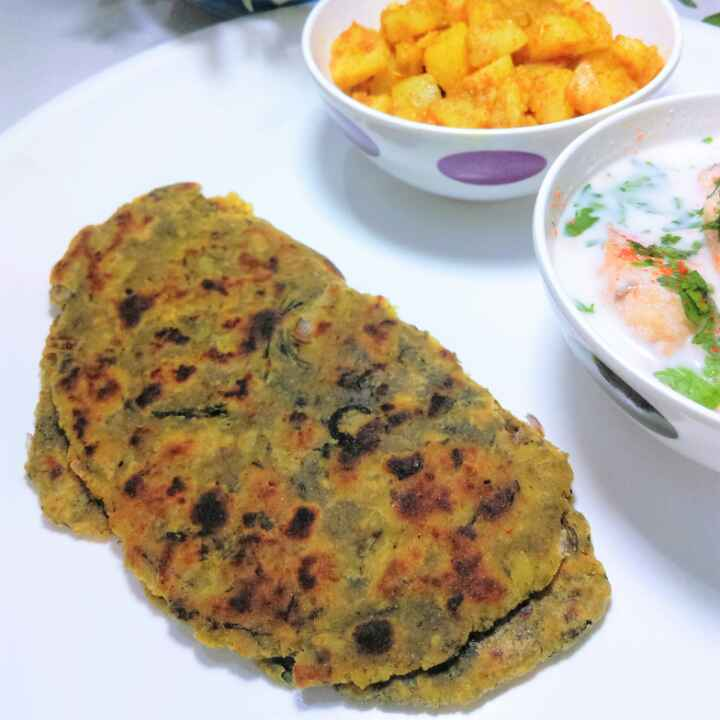 Photo of Methi dhapatte by Anju Bhagnari at BetterButter
