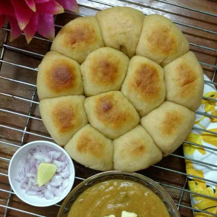 How to make Pav Bhaji ( Home Made Buns )