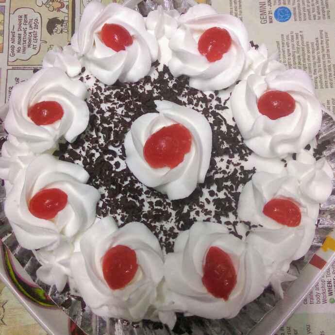 How to make ब्लैक फॉरेस्ट केक