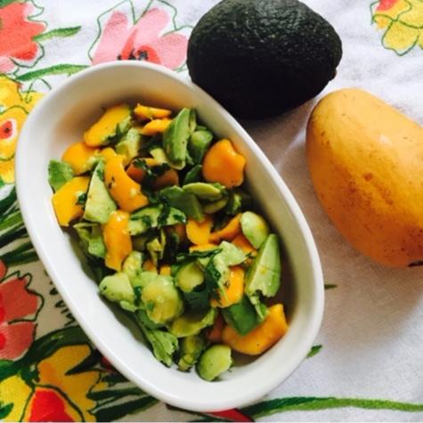 How to make Mango-Avocado Salad