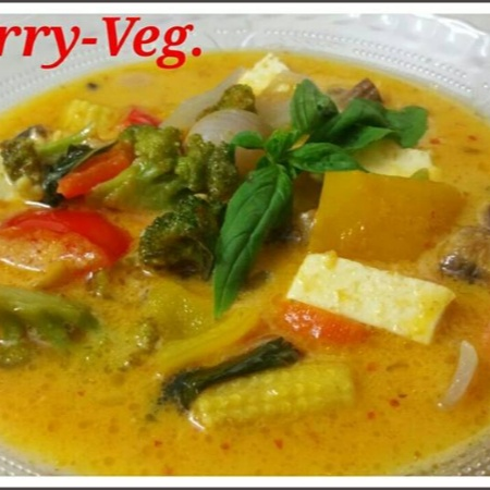 How to make Thai Curry-Veg/Red Thai Curry