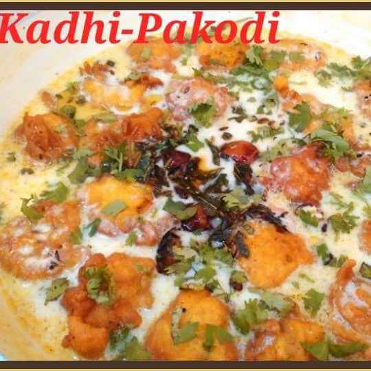 How to make Kadhi Pakodi