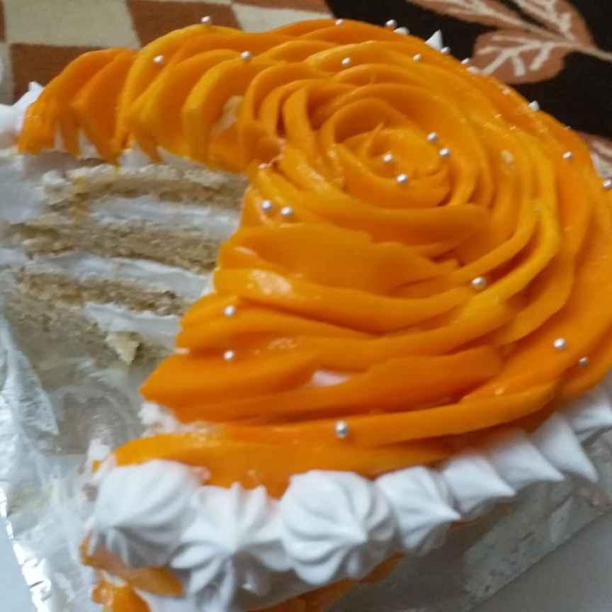 How to make Mango Rose Cake
