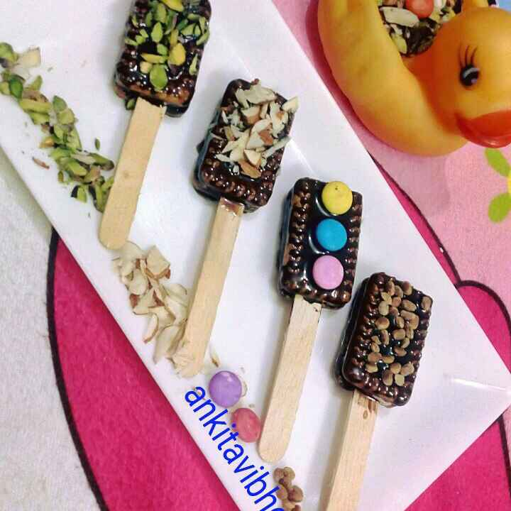 Photo of Biscuits pops by Ankita Vibhor Garg at BetterButter