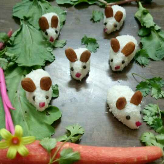 Photo of White rabbits by Ankita Vibhor Garg at BetterButter