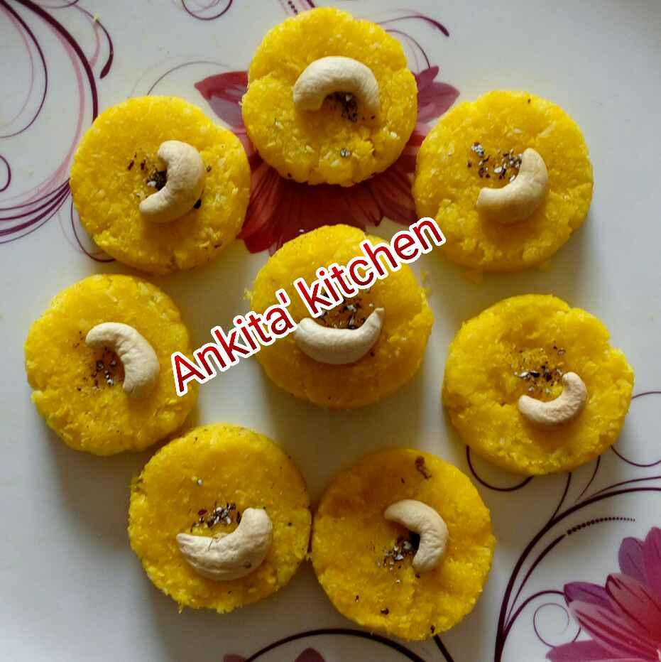 How to make Nariyal peda