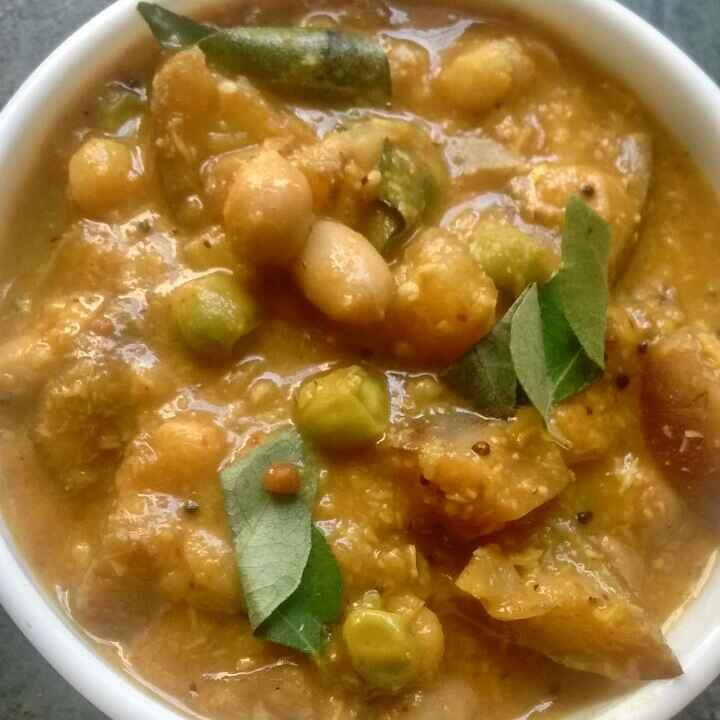 How to make Brinjal Gravy(Pitlai in Tamil)