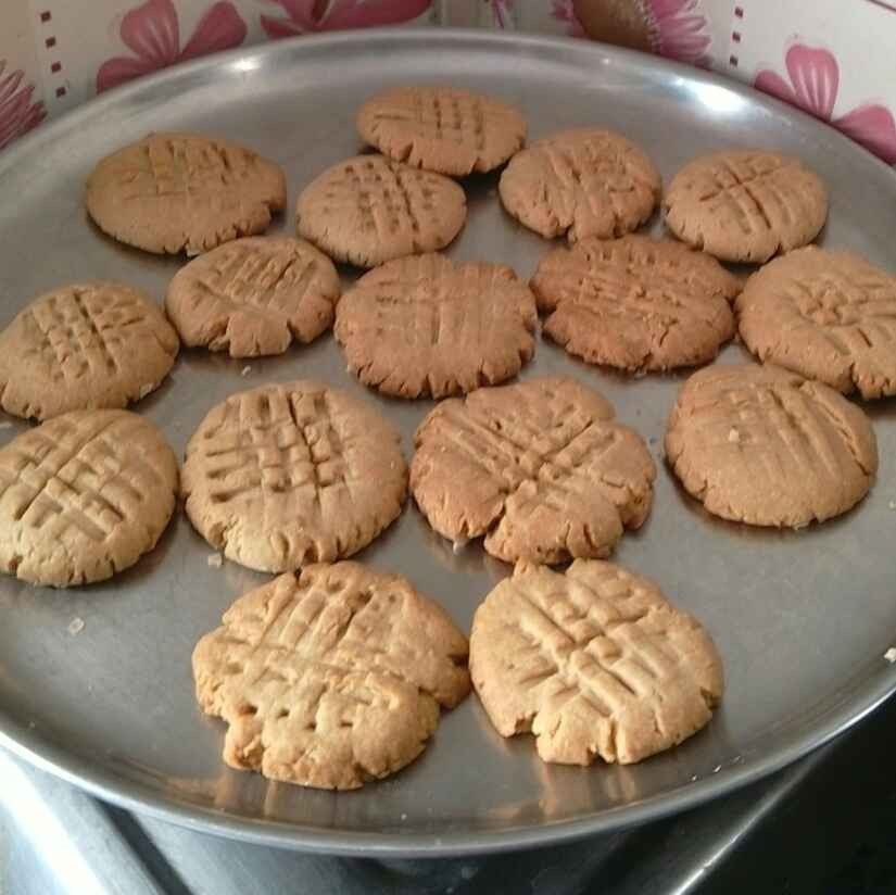 Photo of Whole Wheat Jaggery Cookies by Annapoorani Ganesan at BetterButter