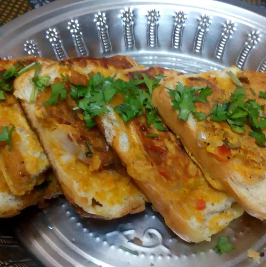 Photo of besan bread toast by మొహనకుమారి jinkala at BetterButter