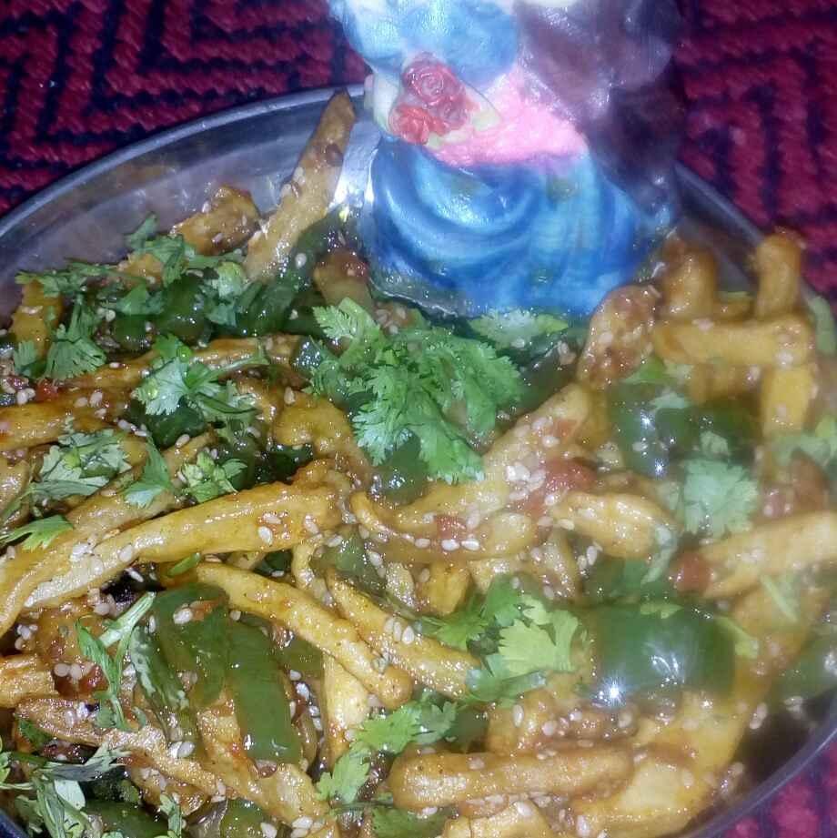 Photo of Chilli honey potato french fries by మొహనకుమారి jinkala at BetterButter