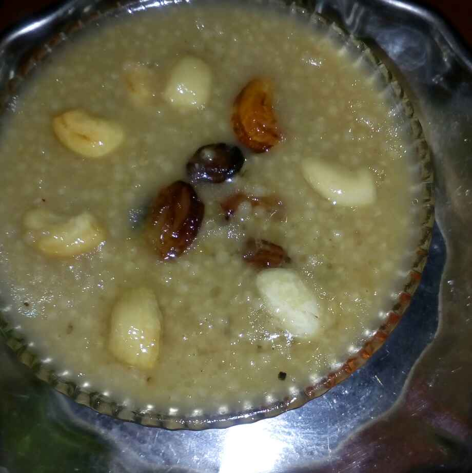 Photo of Foxtail millet coconut milk kheer by మొహనకుమారి jinkala at BetterButter