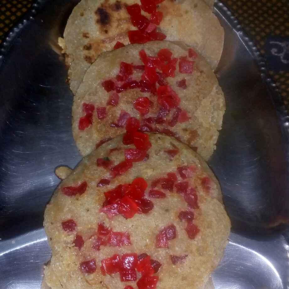 Photo of wheat flour sweet pancake by మొహనకుమారి jinkala at BetterButter