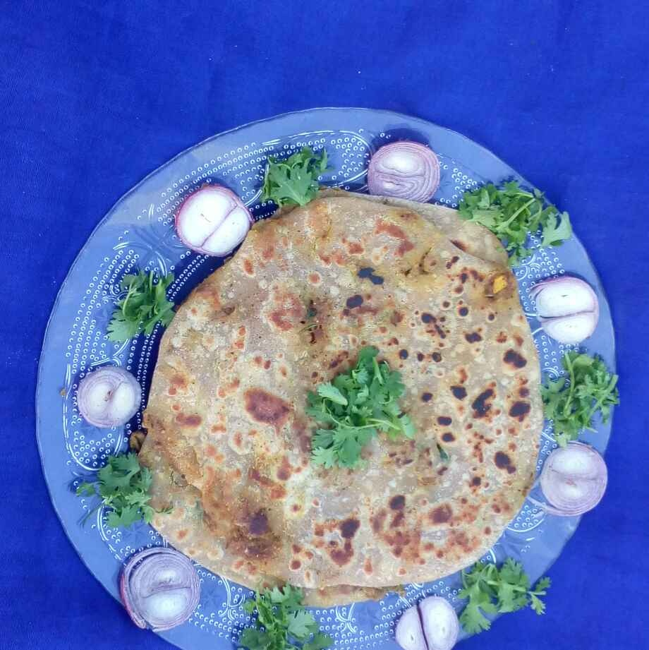Photo of Wheatflour mutton keema parata  by మొహనకుమారి jinkala at BetterButter