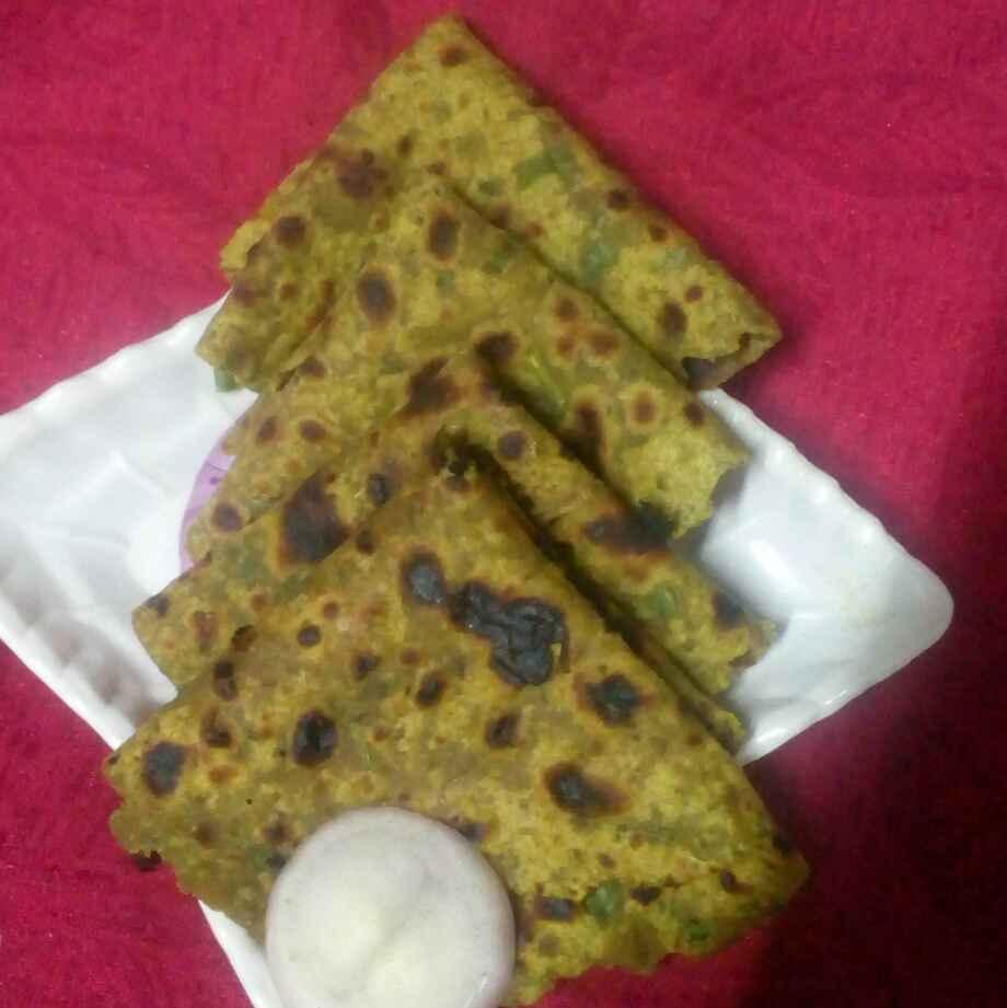 Photo of Moongdal methi parata by మొహనకుమారి jinkala at BetterButter