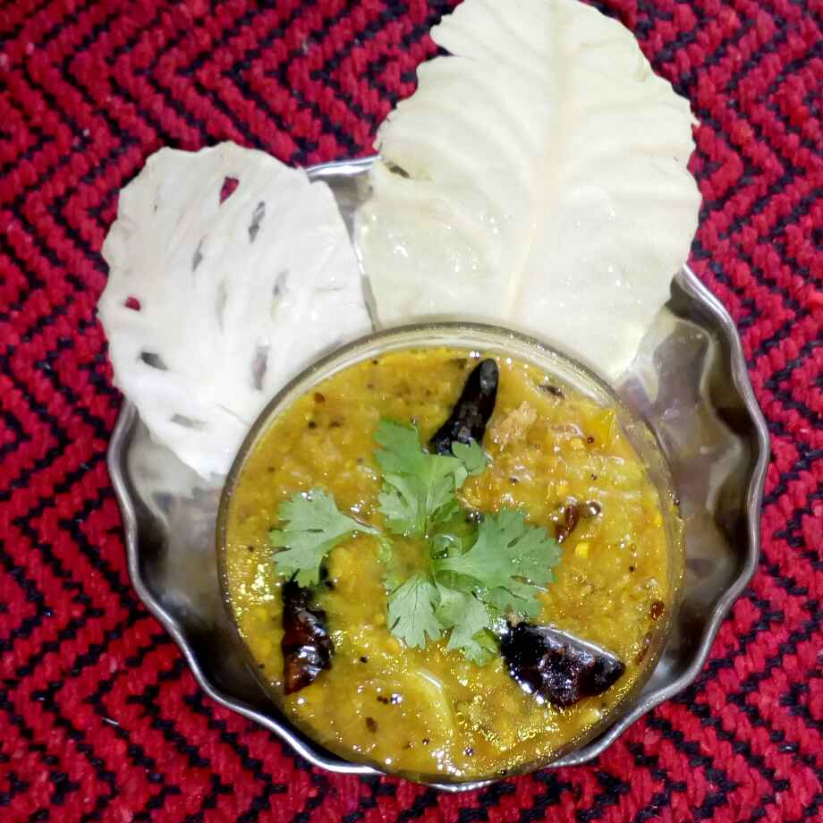 Photo of Cabbage red gram dal by మొహనకుమారి jinkala at BetterButter