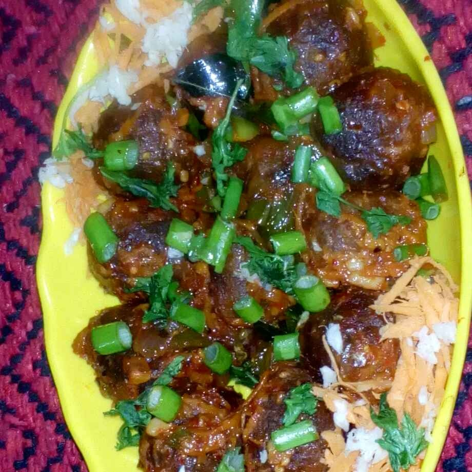 Photo of Mutton manchuria  by మొహనకుమారి jinkala at BetterButter