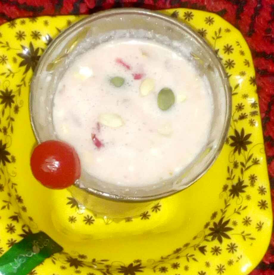 Photo of Protein power dry fruits milk shake by మొహనకుమారి jinkala at BetterButter