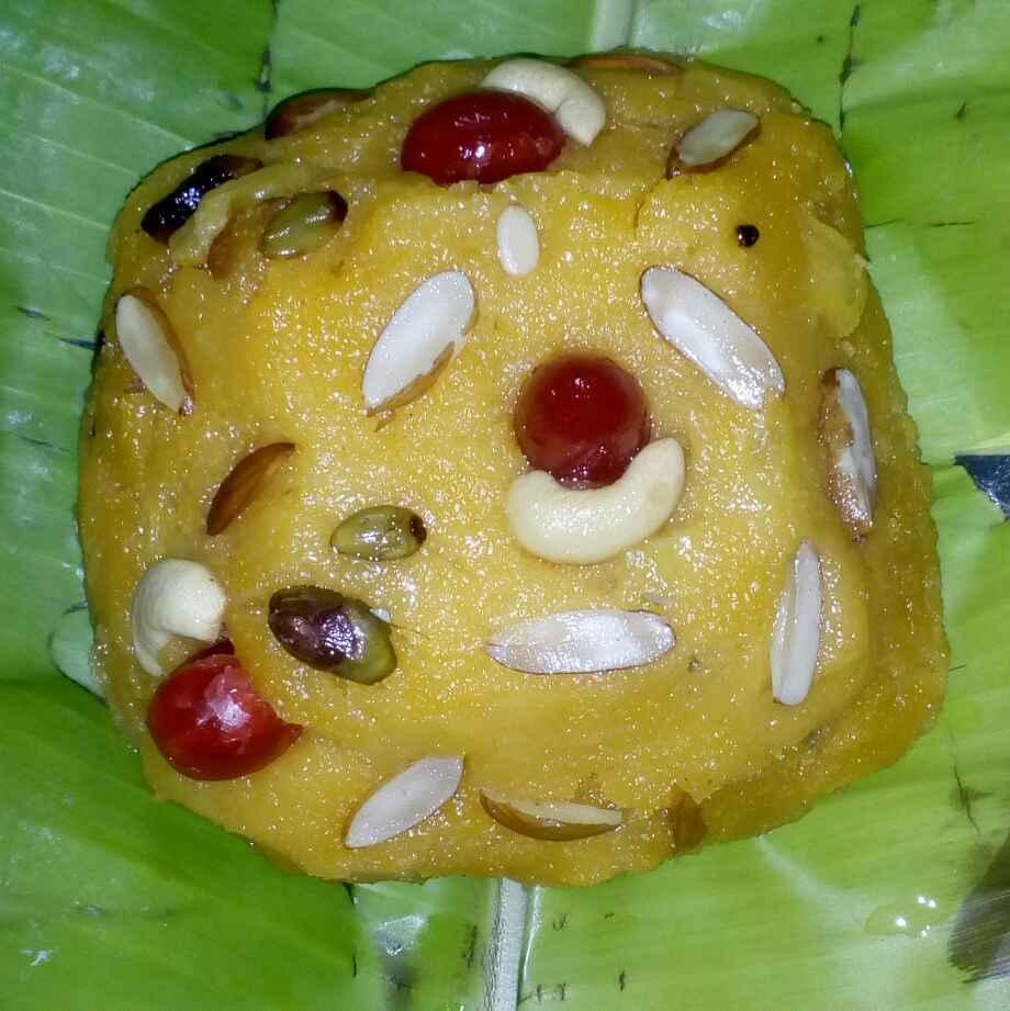 Photo of Pineapple suji kesari by మొహనకుమారి jinkala at BetterButter