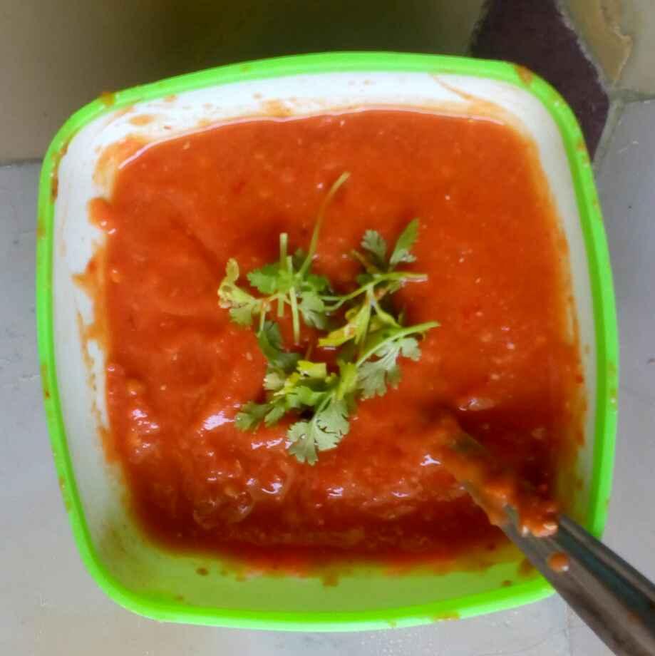 How to make Carrot pulihora,kobbari undalu ,dibbarotte tomato pachadi