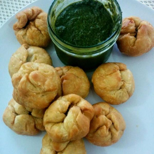 Photo of Onion Peas Kachori by Anshi Goel at BetterButter