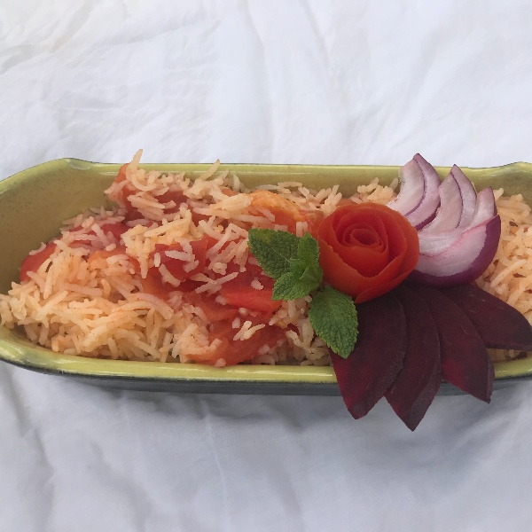 Photo of Tomato Rice by Anshika Gupta at BetterButter