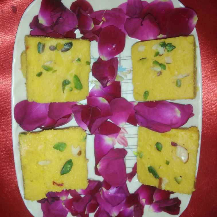 How to make Kesariya barfi