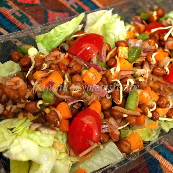 Photo of SPROUTED Black-Chickpea Mixed-Salad by ANSHU BHATNAGAR at BetterButter
