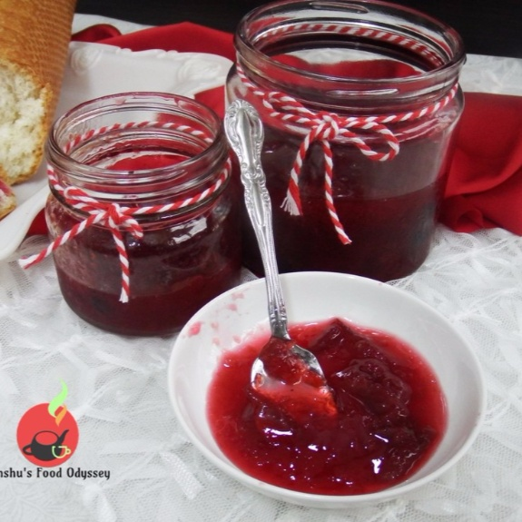 How to make Plum Preserve | Plum Compote
