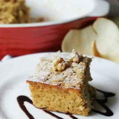 How to make Banana Bread Baked Oatmeal with Toasted Walnuts