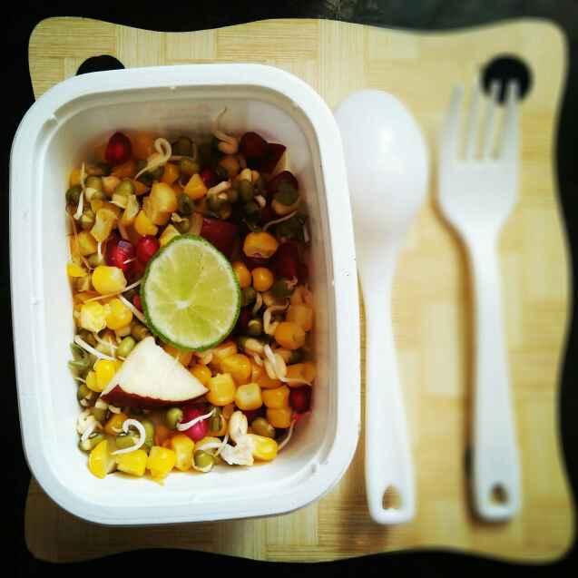 Photo of Chatpata salad by antara basu de at BetterButter