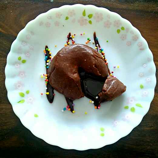 Photo of choco lava cake by antara basu de at BetterButter